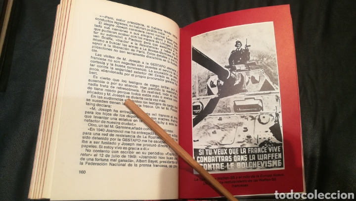 Libros: HISTORIA DE LA GESTAPO , CIRCULO DE AMIGOS DE LA HISTORIA , VOLUMEN 1,2 Y 3 , TAPA DURA Y 250 PÁGINA - Foto 5 - 222925690