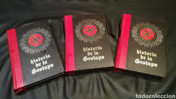 HISTORIA DE LA GESTAPO , CIRCULO DE AMIGOS DE LA HISTORIA , VOLUMEN 1,2 Y 3 , TAPA DURA Y 250 PÁGINA (Libros Nuevos - Historia - Historia Universal)