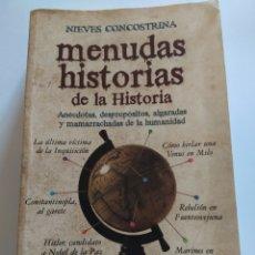 Libros: MENUDAS HISTORIAS DE LA HISTORIA. Lote 222978333