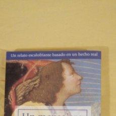 Libros: UN MENSAJERO DE LA NOCHE DE MARIA VALLEJO NAGERA 22X15CMS 3ª EDICION. Lote 223120492