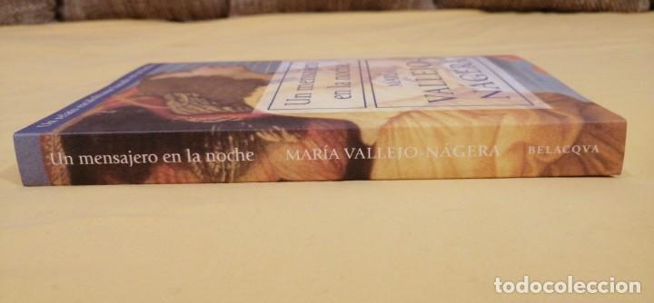 Libros: UN MENSAJERO DE LA NOCHE DE MARIA VALLEJO NAGERA 22X15CMS 3ª EDICION - Foto 2 - 223120492