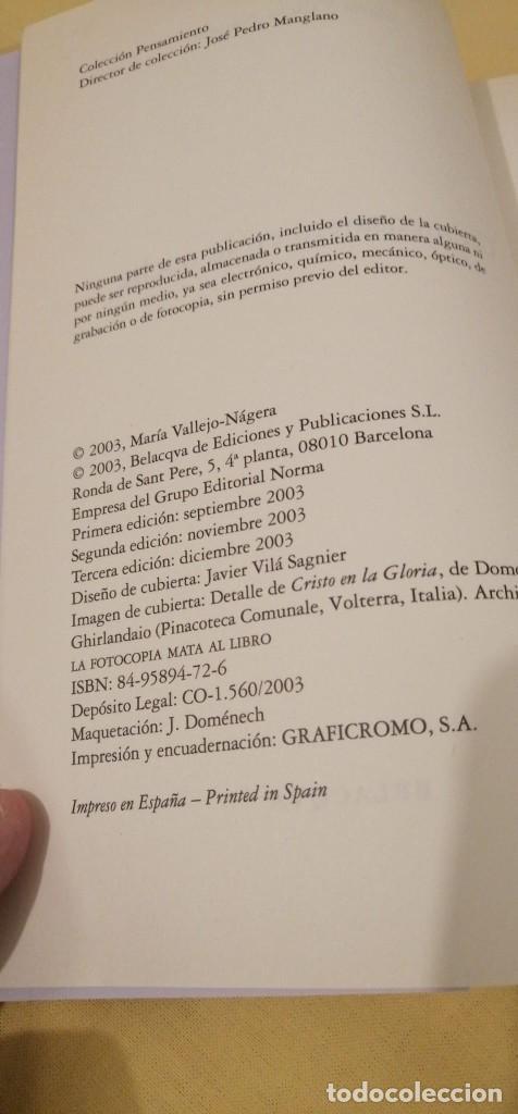 Libros: UN MENSAJERO DE LA NOCHE DE MARIA VALLEJO NAGERA 22X15CMS 3ª EDICION - Foto 4 - 223120492