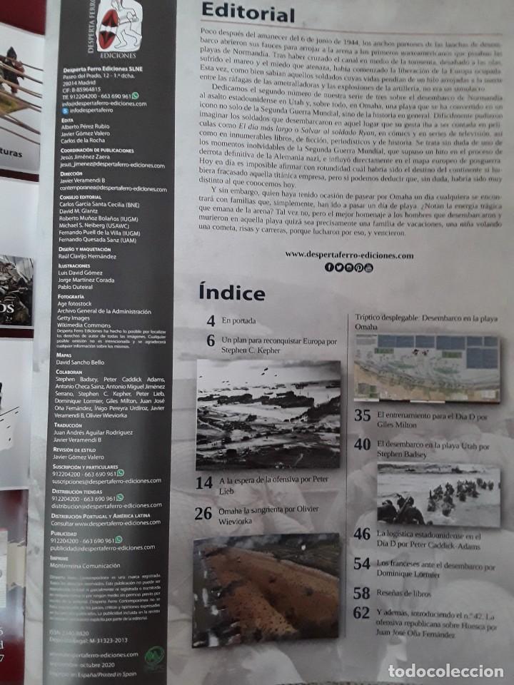 Libros: DOS O MAS REVISTAS, ENVÍO GRATIS. Desperta Ferro contemporánea n.41 . Normandía (II) UTAH Y OMAHA - Foto 3 - 275959463
