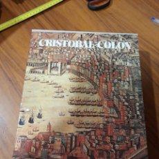 Libros: CRISTOBAL COLON 2 TOMOS EN ESTUCHE, 1977. Lote 225059330