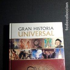 Libros: GRAN HISTORIA UNIVERSAL: EGIPTO Y LOS GRANDES IMPERIOS. Lote 225315877