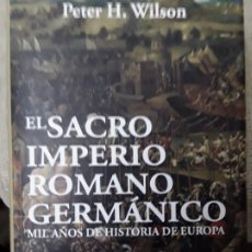 Libros: EL SACRO IMPERIO ROMANO GERMANICO. Lote 280611308