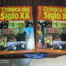 Libros: CRÓNICA DEL SIGLO XX 2 TOMOS COMPLETA. Lote 229898950