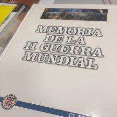 Libros: MEMORIA DE LA II GUERRA MUNDIAL 1939 1945 LA VERDAD TAPA DURA. Lote 235689060