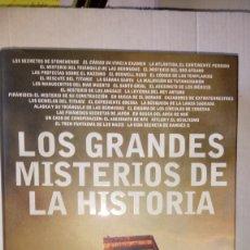 Libros: LIBRO LOS GRANDES MISTERIOS DE LA HISTORIA. CANAL DE HISTORIA. EDITORIAL PLAZA JANES. AÑO 2008.. Lote 238178430
