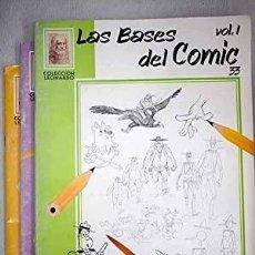 Libros: LAS BASES DEL CÓMIC VOLUMEN I, II Y III OBRA COMPLETA VINCIANA EDITORA. MILANO. 34 CM. 3 V. ENCUA. Lote 239750440