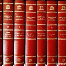 Libros: HISTORIA DE LA HUMANIDAD - OCHO TOMOS - UNESCO/PLANETA - NUEVA. Lote 240512470