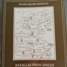 Libros: BATALLAS PRINCIPALES DEL SIGLO XX. FELIPE QUERO RODILES. Lote 240851135
