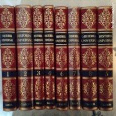 Libros: HISTORIA UNIVERSAL ED. LABOR OBRA COMPLETA EN 8 TOMOS ENCUADERNACION LUJO NUEVA. Lote 245208075