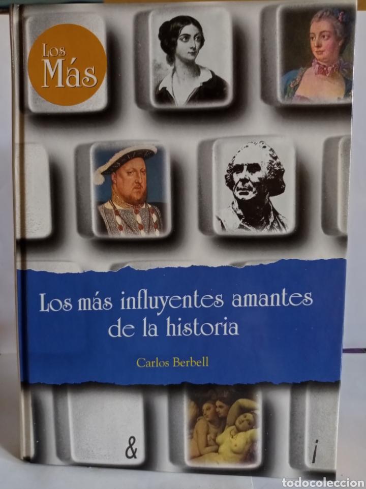 """LIBRO,"""" LOS MAS INFLUYENTES AMANTES DE LA HISTORIA"""". DE CARLOS BERBELL,EDICIONES RUEDA-1998. TAPA DU (Libros Nuevos - Historia - Historia Universal)"""