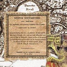 Libros: NUEVOS DOCUMENTOS (...) FAMOSOS TRAYDORES REFUGIADOS EN FRANCIA. GUERRA DE INDEPENDENCIA ESPAÑOLA. Lote 251154255