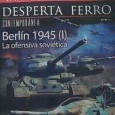 Libros: DESPERTA FERRO CONTEMPORANEA 38. BERLÍN 1945 (I) LA OFENSIVA SOVIETICA. Lote 251986700