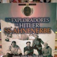 Libri: JAVIER MARTÍNEZ LOS EXPLORADORES DE HITLER.( SS- AHNENERBE). NOWTILUS. Lote 254289580