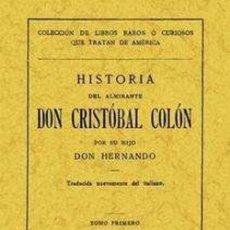 Libros: HISTORIA DEL ALMIRANTE DON CRISTOBAL COLON. TOMO SEGUNDO. Lote 260166315