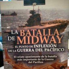 Libros: JOSÉ MANUEL GUTIÉRREZ.LA BATALLA DE MIDWAY (EL PUNTO DE INFLEXIÓN DE LA GUERRA DEL PACÍFICO)NOWTILUS. Lote 260777385