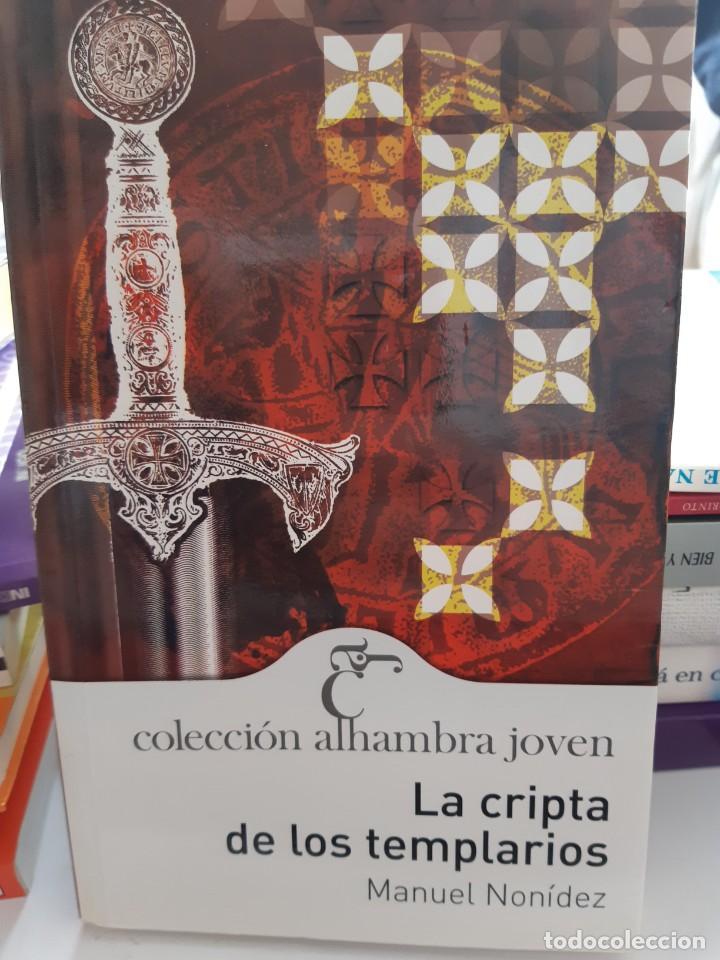 LA CRIPTA DE LOS TEMPLARIOS MANUEL NONIDEZ (Libros Nuevos - Historia - Historia Universal)