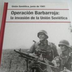 Libros: OPERACIÓN BARABARROJA. INVASION DE LA URSS. ED. OSPREY-RBA. Lote 262779235