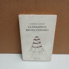 Libros: CORNELIUS CASTORIADIS - LA EXIGENCIA REVOLUCIONARIA - ACUARELA LIBROS. Lote 263227880