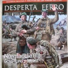 Libros: DOS O MAS REVISTAS, ENVÍO GRATIS. DESPERTA FERRO CONTEMPORÁNEA. 45 NORMANDIA (III). Lote 280610968
