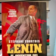 Libros: STÉPHANE COURTOIS. LENIN.( EL INVENTOR DEL TOTALITARISMO) .ESFERA DE LOS LIBROS. Lote 267686979