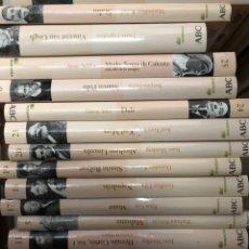 Libros: LOTE 24 LIBROS ABC PROTAGONISTAS DE LA HISTORIA. Lote 270344468