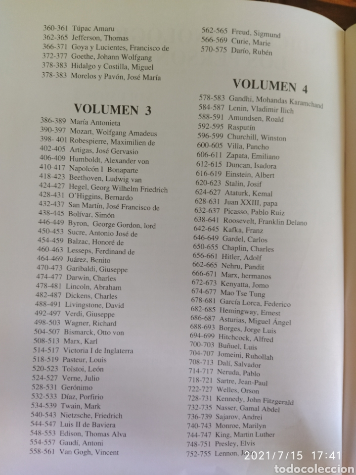 Libros: Grandes biografías Ed Oceano - Foto 3 - 275730998