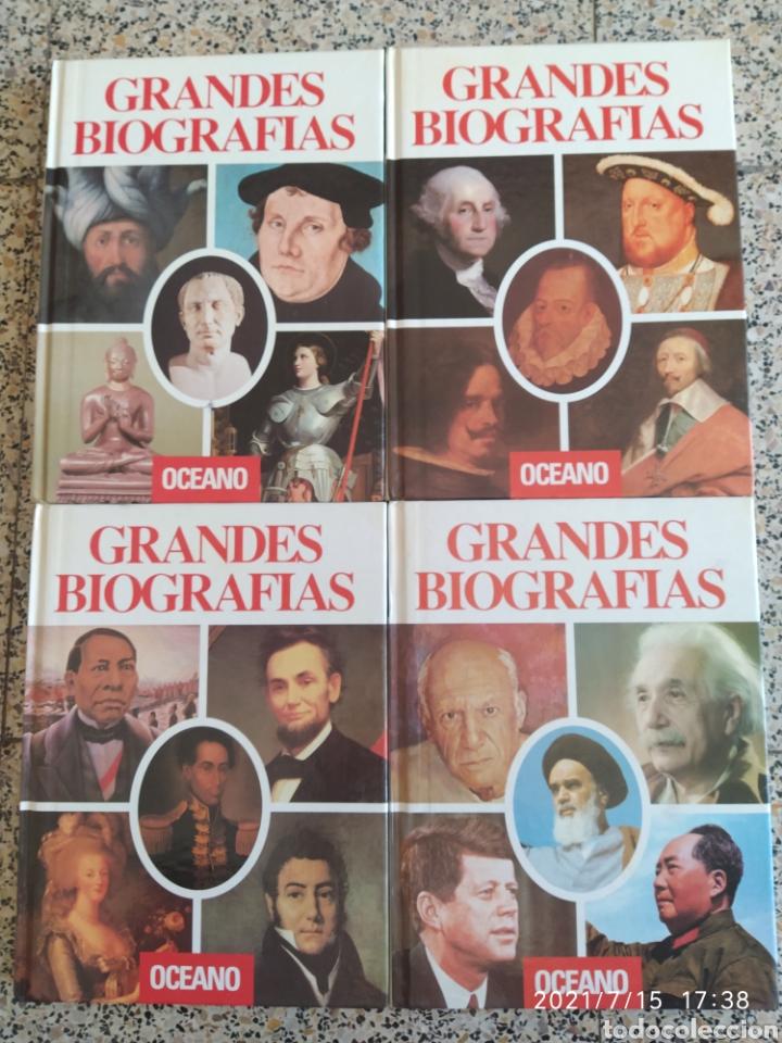 GRANDES BIOGRAFÍAS ED OCEANO (Libros Nuevos - Historia - Historia Universal)