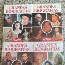 Libros: GRANDES BIOGRAFÍAS ED OCEANO. Lote 275730998