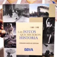 Libros: LAS FOTOS QUE HICIERON HISTORIA 1900-2009 LIBRO. Lote 277197223
