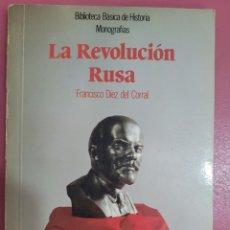 Libros: LA REVOLUCIÓN RUSA FRANCISCO DIEZ DEL CORRAL. Lote 277201208