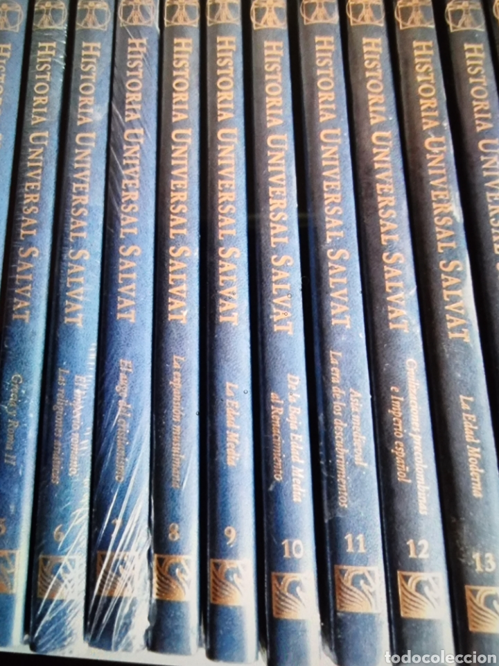 Libros: enciclopedia de Historia universal Salvat 17 tomos de la prehistoria al siglo XX - Foto 2 - 288577218