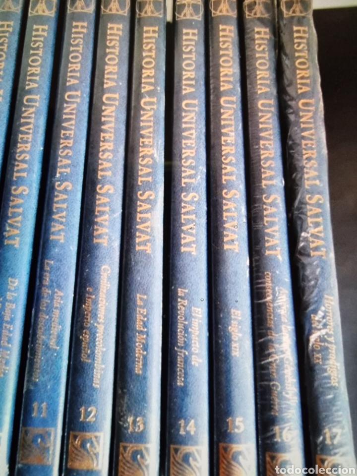 Libros: enciclopedia de Historia universal Salvat 17 tomos de la prehistoria al siglo XX - Foto 3 - 288577218