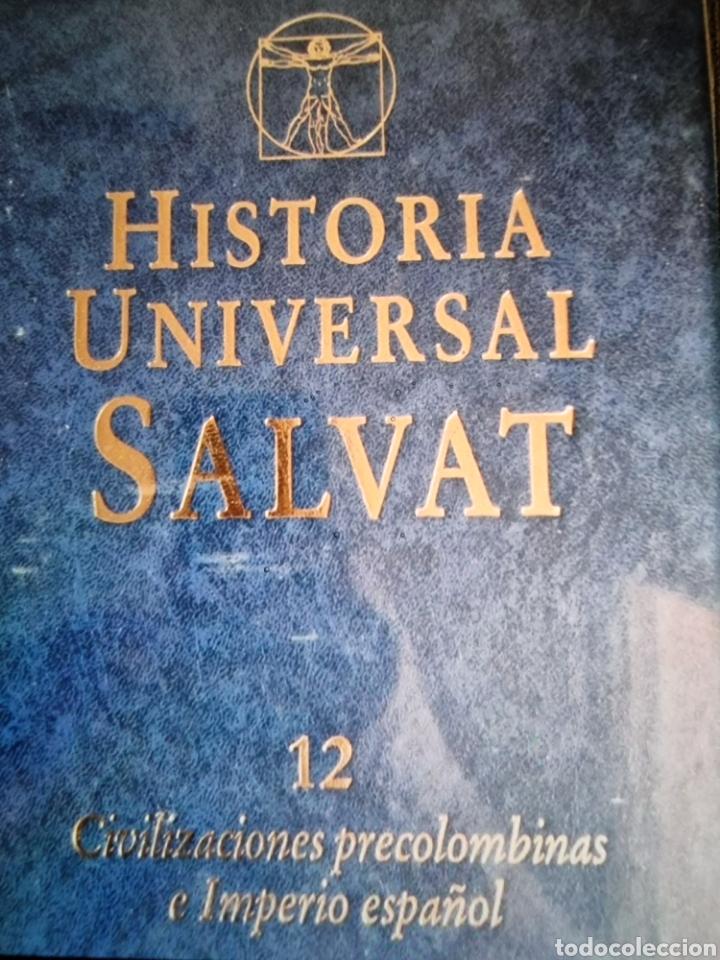 Libros: enciclopedia de Historia universal Salvat 17 tomos de la prehistoria al siglo XX - Foto 8 - 288577218