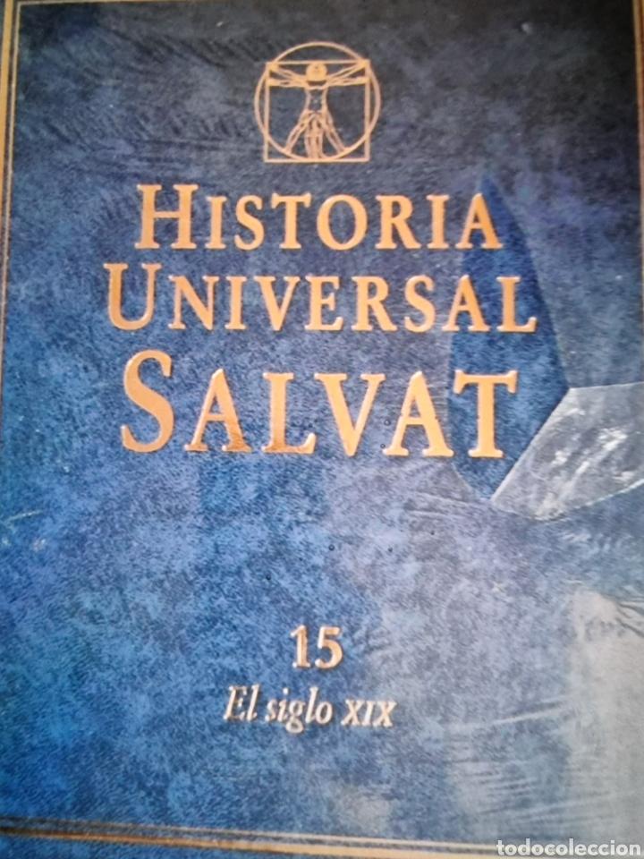 Libros: enciclopedia de Historia universal Salvat 17 tomos de la prehistoria al siglo XX - Foto 9 - 288577218