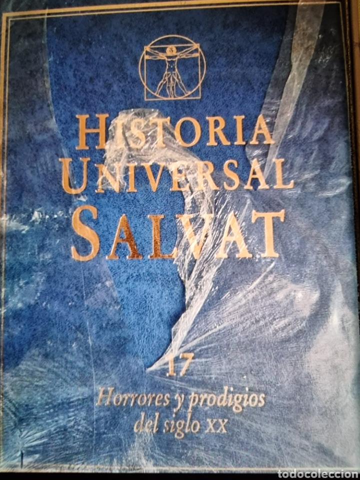 Libros: enciclopedia de Historia universal Salvat 17 tomos de la prehistoria al siglo XX - Foto 10 - 288577218