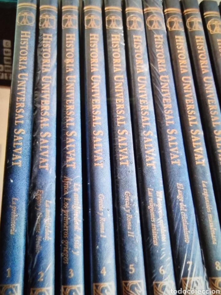 ENCICLOPEDIA DE HISTORIA UNIVERSAL SALVAT 17 TOMOS DE LA PREHISTORIA AL SIGLO XX (Libros Nuevos - Historia - Historia Universal)