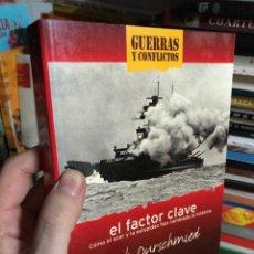Libros: ERIC DURSCHMIED: EL FACTOR CLAVE, COMO EL AZAR Y LA ESTUPIDEZ HAN CAMBIADO LA HISTORIA GUERRAS. Lote 293477353