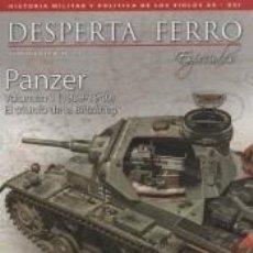 Libros: REVISTA DESPERTA FERRO. ESPECIAL, Nº 12. LOS PANZER (I) 1939-1940. Lote 293481613