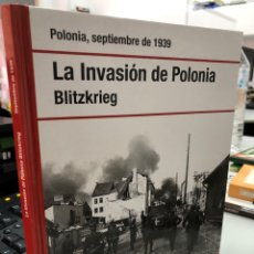 Libros: POLONIA SEPTIEMBRE 1939: LA INVASIÓN DE POLONIA BLITZKRIEG. Lote 296633288