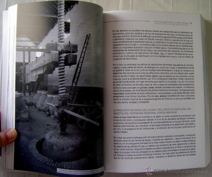 Libros: PATRIMONIO INDUSTRIAL AGROALIMENTARIO. COLECCIÓN LOS OJOS DE LA MEMORIA - Foto 3 - 41484786