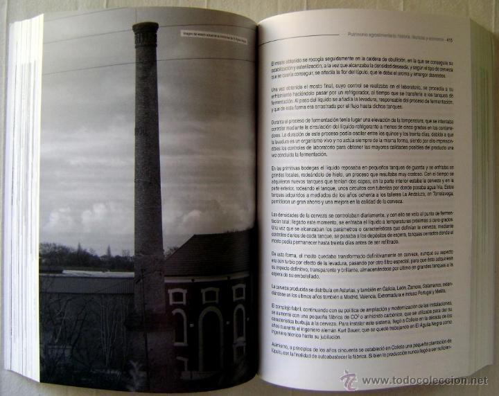 Libros: PATRIMONIO INDUSTRIAL AGROALIMENTARIO. COLECCIÓN LOS OJOS DE LA MEMORIA - Foto 5 - 41484786