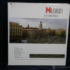 Libros: MADRID Y SU PROVINCIA ED ESPECIAL PARA FASA RENAULT JUNTA ACCIONISTAS 1999 ED MEDITERRÁNEO. Lote 48775432
