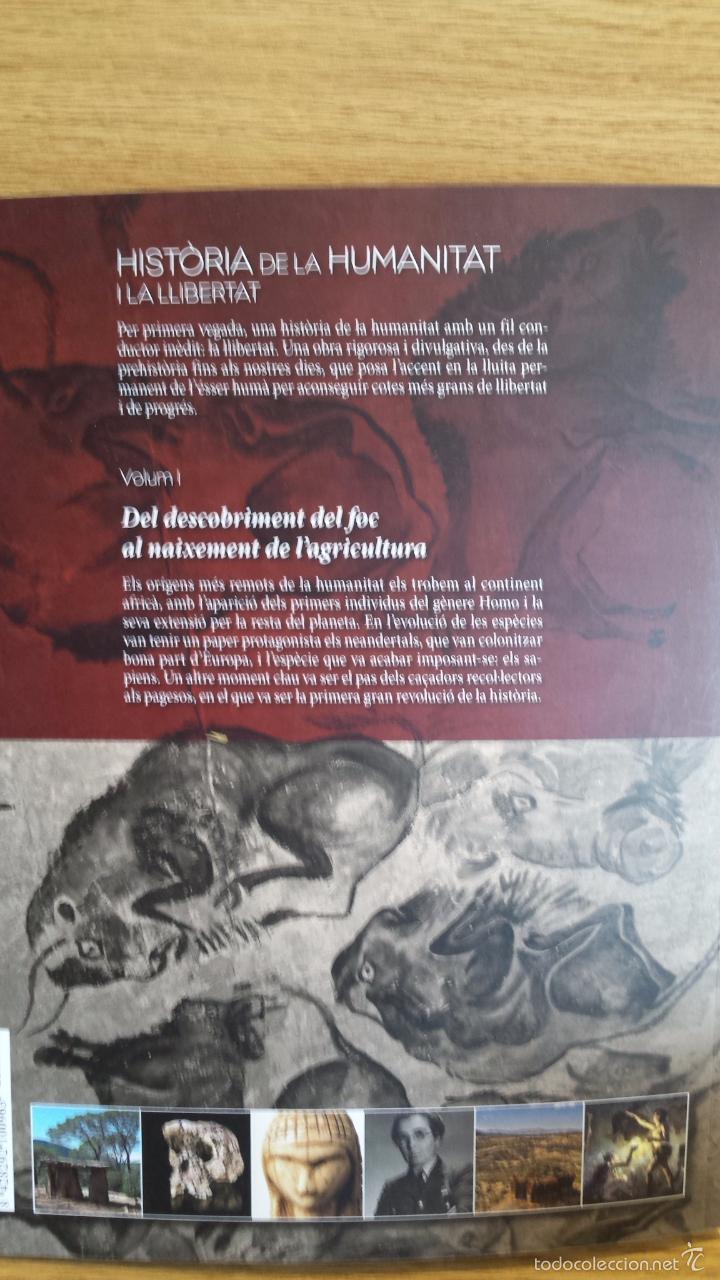 Libros: SÀPIENS. HISTÒRIA DE LA HUMANITAT I LA LLIBERTAT. VOL 1. / LIBRO NUEVO. - Foto 2 - 55933246