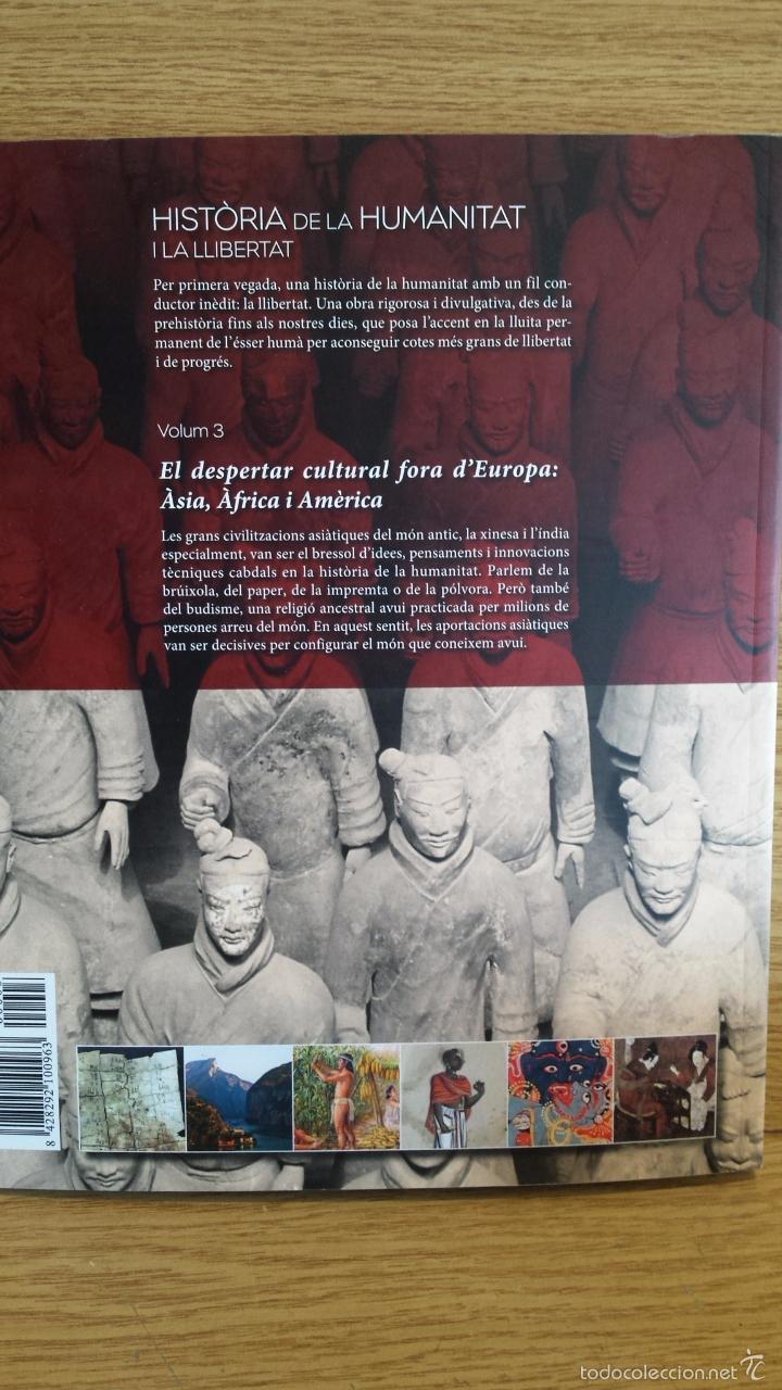 Libros: SÀPIENS. HISTÒRIA DE LA HUMANITAT I LA LLIBERTAT. VOL 3. / LIBRO NUEVO. - Foto 2 - 55933313