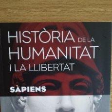 Libros: SÀPIENS. HISTÒRIA DE LA HUMANITAT I LA LLIBERTAT. VOL 4. / LIBRO NUEVO.. Lote 55933350