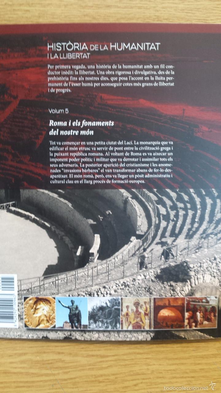 Libros: SÀPIENS. HISTÒRIA DE LA HUMANITAT I LA LLIBERTAT. VOL 5. / LIBRO NUEVO. - Foto 2 - 55933381
